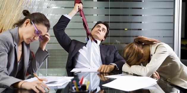 iş yeri ve stres