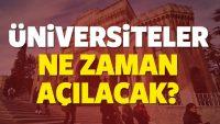 2017-2018 Üniversiteler Ne Zaman Açılacak?